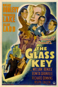 "Movie Posters:Film Noir, The Glass Key (Paramount, 1942). One Sheet (27"" X 41"")...."