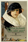 "Movie Posters:Drama, Money, Money, Money (Associated First National Pictures, 1923). One Sheet (27.5"" X 41"")...."