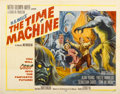 "Movie Posters:Science Fiction, The Time Machine (MGM, 1960). Half Sheet (22"" X 28"") Style A...."