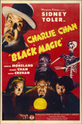 "Movie Posters:Mystery, Black Magic (Monogram, 1944). One Sheet (27"" X 41"")...."