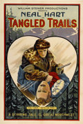 "Movie Posters:Western, Tangled Trails (William Steiner, 1921). One Sheet (27"" X 41"")...."