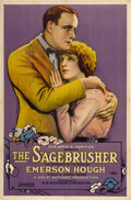 "Movie Posters:Western, The Sagebrusher (W. W. Hodkinson Corporation, 1920). One Sheet(26.5"" X 40.5"")...."