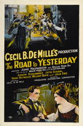 """Movie Posters:Romance, The Road to Yesterday (Producers Distributing Corp., 1925). One Sheet (27"""" X 41"""")...."""