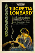 "Movie Posters:Drama, Lucretia Lombard (Warner Brothers, 1923). One Sheet (27"" X 41"")Style A...."