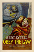"""Movie Posters:Drama, Obey the Law (Columbia, 1926). One Sheet (27"""" X 41"""") Style B...."""