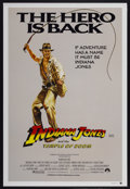 "Movie Posters:Adventure, Indiana Jones and the Temple of Doom (Paramount, 1984). AustralianOne Sheet (27"" X 40"") Style B. Adventure...."