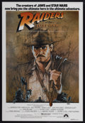 "Movie Posters:Adventure, Raiders of the Lost Ark (Paramount, 1981). Australian One Sheet(27"" X 40"") Tri-Folded. Adventure...."