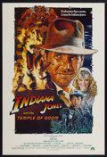 "Movie Posters:Adventure, Indiana Jones and the Temple of Doom (Paramount, 1984). One Sheet(27"" X 40"") Style B. Adventure...."