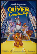 "Movie Posters:Animated, Oliver & Company (Buena Vista, 1988). One Sheet (27"" X 40"") DS. Animated...."