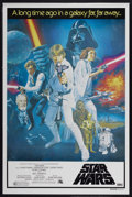 "Movie Posters:Science Fiction, Star Wars (20th Century Fox, 1977). Australian One Sheet (26.5"" X40"") Tri-Folded. Science Fiction...."