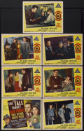 """Movie Posters:Thriller, The Tall Target (MGM, 1951). Title Lobby Card and Lobby Cards (6) (11"""" X 14""""). Thriller.... (Total: 7 Items)"""