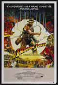 "Movie Posters:Adventure, Indiana Jones and the Temple of Doom (Paramount, 1984). AustralianOne Sheet (27"" X 40"") Style A. Adventure...."