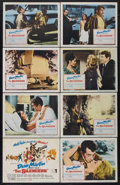 "Movie Posters:Action, The Silencers (Columbia, 1966). Lobby Card Set of 8 (11"" X 14"").Action.... (Total: 8 Items)"