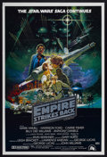"Movie Posters:Science Fiction, The Empire Strikes Back (20th Century Fox, 1980). Australian OneSheet (27"" X 40""). Science Fiction...."