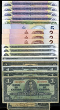Canadian Currency: , Canadian Group Lot - Very Good or Better.. ... (Total: 20 notes)