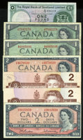 Canadian Currency: , Canadian Notes and More.. ... (Total: 7 notes)