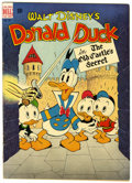 Golden Age (1938-1955):Cartoon Character, Four Color #189 Donald Duck (Dell, 1948) Condition: VG+....
