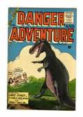 Golden Age (1938-1955):Science Fiction, Danger and Adventure #23 (Charlton, 1955) Condition: VF....