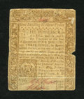Colonial Notes:Connecticut, Connecticut June 1, 1780 1s/3d Fine....
