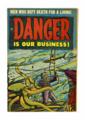 Golden Age (1938-1955):Science Fiction, Danger Is Our Business! #1 Canadian edition (Toby Publishing, 1953)Condition: FN+....