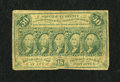 Fractional Currency:First Issue, Fr. 1312 50c First Issue Very Good....