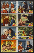 "Movie Posters:Adventure, To Please a Lady (MGM, 1950). Lobby Card Set of 8 (11"" X 14"").Adventure.... (Total: 8 Items)"