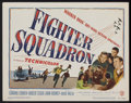 "Movie Posters:War, Fighter Squadron (Warner Brothers, 1948). Title Lobby Card (11"" X14""). War...."