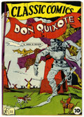 Golden Age (1938-1955):Classics Illustrated, Classic Comics #11 Don Quixote - First edition (Gilberton, 1943)Condition: Apparent FN/VF....