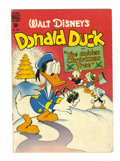 Golden Age (1938-1955):Funny Animal, Four Color #203 Donald Duck (Dell, 1948) Condition: VG....
