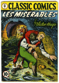 Golden Age (1938-1955):Classics Illustrated, Classic Comics #9 Les Miserables - First edition (Gilberton, 1943)Condition: VG....