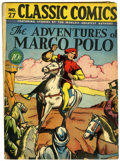 Golden Age (1938-1955):Classics Illustrated, Classic Comics #27 Adventures of Marco Polo HRN 27 (Gilberton, 1946) Condition: VG....