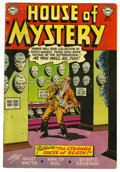 Golden Age (1938-1955):Horror, House of Mystery #19 (DC, 1953) Condition: VG+....