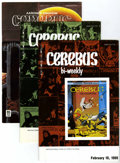 Modern Age (1980-Present):Alternative/Underground, Cerebus The Aardvark Group (Aardvark-Vanaheim, 1987-89) Condition: Average NM-.... (Total: 9 Comic Books)