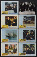 "Movie Posters:War, Sink the Bismarck! (20th Century Fox, 1960). Lobby Cards (7) (11"" X14"") and Still (10"" X 13""). War.... (Total: 8 Items)"