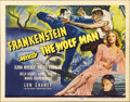 "Movie Posters:Horror, Frankenstein Meets the Wolf Man (Universal, 1943). Title Card (11""X 14"")...."