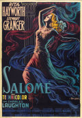 "Movie Posters:Drama, Salome (Columbia, 1953). Italian 4 - Folio (55"" X 78"")...."