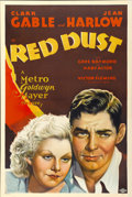 "Movie Posters:Romance, Red Dust (MGM, 1932). One Sheet (27"" X 41"") Style D...."