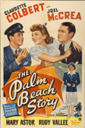 "Movie Posters:Comedy, The Palm Beach Story (Paramount, 1942). One Sheet (27"" X 41"")...."