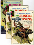 Bronze Age (1970-1979):Miscellaneous, The Jungle Twins File Copies Group (Gold Key/Whitman, 1973-82)Condition: Average VF/NM.... (Total: 12 Comic Books)