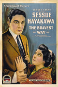 "Movie Posters:Drama, The Bravest Way (Famous Players Corp., 1918). One Sheet (27"" X41"")...."