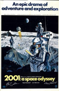 "Movie Posters:Science Fiction, 2001: A Space Odyssey (MGM, 1968). Autographed One Sheet (27"" X41"") Style B...."