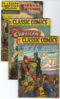 Golden Age (1938-1955):Classics Illustrated, Classics Illustrated Group (Gilberton, 1950s) Condition: Average VG unless otherwise noted.... (Total: 50 Comic Books)