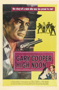 "Movie Posters:Western, High Noon (United Artists, 1952). One Sheet (27"" X 41"")...."