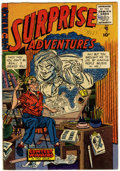 Golden Age (1938-1955):Horror, Surprise Adventures #3 (Sterling Comic Group, 1955) Condition:FN-....