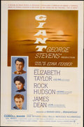 "Movie Posters:Drama, Giant (Warner Brothers, 1956). One Sheet (27"" X 41"")...."