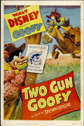 "Movie Posters:Animated, Two Gun Goofy (RKO, 1952). One Sheet (27"" X 41"")...."
