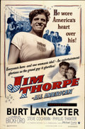 "Movie Posters:Sports, Jim Thorpe - All American (Warner Brothers, 1951). One Sheet (27"" X 41""). Sports...."