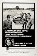 "Movie Posters:Cult Classic, Two-Lane Blacktop (Universal, 1971). One Sheet (27"" X 41"")...."