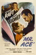 "Movie Posters:Drama, Mr. Ace (United Artists, 1946). One Sheet (27"" X 41""). Drama...."