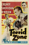 "Movie Posters:Adventure, Torrid Zone (Warner Brothers, 1940). One Sheet (27"" X 41"")...."
